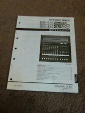 Yamaha Powered Mixer EMX 2150 EMX 2200 EMX 2300 Service Repair Manual Schematic
