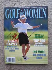 Autographed Golf For Women Magazine Dottie Pepper Autograph LPGA
