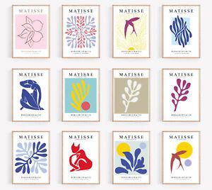 Henri Matisse Exhibition Prints Matisse Poster Flower Floral Decor Wall Art