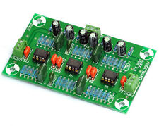 Stereo MM Phono RIAA Preamp Module, Kit, OPA2134PA