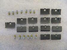 Correct 68-82 C3 Corvette Windshield Moulding Clip 13 pc Set w Screws wc68-82cor