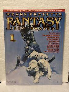 FRANK FRAZETTA FANTASY ILLUSTRATED, #1, VF+ COND., 1998