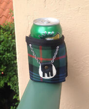 Murray Tartan Plaid Beer Bottle Koozie Mini Kilt With Sporran Christmas Gift
