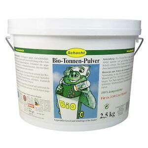 Schacht Bio-Tonnen-Pulver 2,5 kg gegen Ungeziefer Maden Schimmel