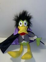 VINTAGE 1990 COSGROVE HALL PRODUCTION COUNT DUCKULA PLUSH WITH POSABLE LEGS