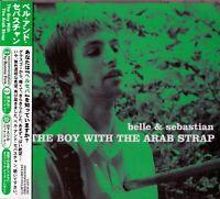 "Belle & Sebastian - The Boy With The Arab Strap"" JAPAN CD OBI"