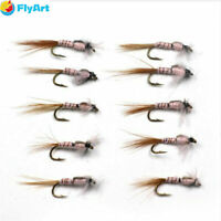 Guide/'s Choice Black Beauty Red Rib-Fly Fishing Flies-Trout Flies-Wet