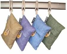 100% Natural Auto Air Purifying Bamboo Charcoal Bag/ Air Freshener(4bags)