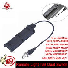 Control Remoto Interruptor 1 Enchufe Doble Para Luz Táctica Airsoft LED accesorios weaver de carril