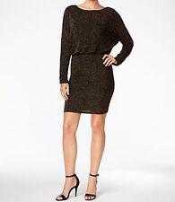Jessica Howard New Glitter Blouson Sheath Dress Size 16 MSRP $89 #GB 181/16