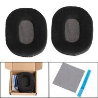Velour Ear Pads Cushion For Audio-Technica ATH-M40 ATH-M50 ATH-SX1 DJ Headphone