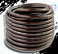 25 feet 10 Gauge AWG 100% OFC Copper Power Ground Wire Marine speaker AMP Cable