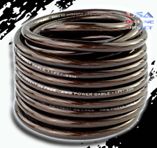 20 feet 10 Gauge AWG 100% OFC Copper Power Ground Wire Marine speaker AMP Cable