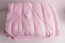 New Pottery Barn Kids Audrey pink twin quilt *spot needs repaired*