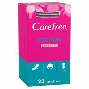 Carefree Baumwolle Atmungsaktiv Höschen Lidstift 20 Pack Slipeinlagen Einzel