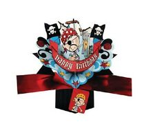 3D Pop Up Birthday Card by Second Nature - PIRATE  - #37
