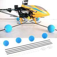 Universal Anti-crash Landing Training Gear Kit Set Blue for RC Helicopter