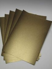 20 x A4 2-Sided Bronze Pearlescent Shimmer Card 300gsm AM374