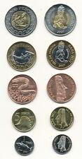 Easter Island - KMS Satz 5 Münzen 1 + 5 + 50 + 200 + 500 Pesos 2007 UNC