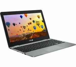 "ASUS C223 11.6"" Chromebook - Intel Celeron 32 GB eMMC Grey"