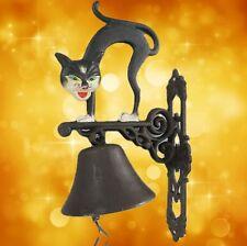 Wandglocke Gußeisen Katze Tür Klingel Gescher klingt gut Geschenk Vintage Deko