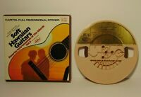 Vintage Tested Soft Hawaiian Guitars Instrumentals 3¾ ips Reel to Reel Tape &Box