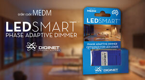 Diginet Best Dimmer for LED Downlight Loads Down to 0% *Genuine Stock*