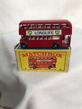 Vintage Matchbox Series #5 London Bus W/Box