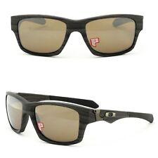 NEW Oakley Jupiter Squared sunglasses Woodgrain Tungsten Polarized brown 9135-07