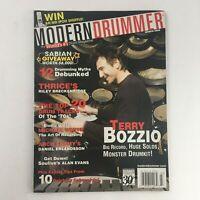 Modern Drummer Magazine March 2006 Terry Bozzio & Michael White & Alan Evans, VG