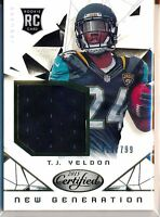 T.J. YELDON - 2015 Certified New Generation RC Jersey /799 - Jaguars RC