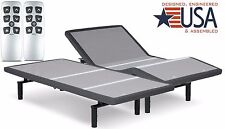 SPLIT KING FALCON 2.0 PLUS ADJUSTABLE BED BY LEGGETT & PLATT W/ WIRELESS REMOTE