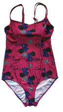 Damen Badeanzug gepolsterte Cups mehrfarbig Gr. 44