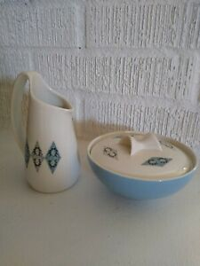 Iroquois True China By Ben Seibel Creamer And Sugar Bowl