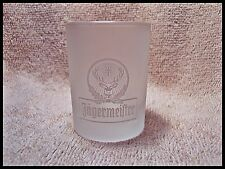Shot Glass Jagermeister Classic 2cl Size Frosted Glass with Logo 1 1/2 ounce 381