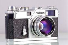Classic Premium Nikon Rangefinder S3 Original + Nippon Kogaku NIKKOR-S.C F1.4 50