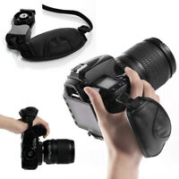 Camera Leather Hand Grip Wrist Strap for Canon Nikon Sony Olympus SLR DSLR