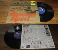 Jimmy Reed ‎– Things Ain't What They Used To Be LP ORG French Press Blues 1964
