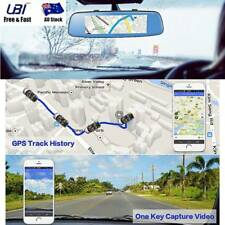4G 8'' 1080P Car DVR BT GPS Android RearView Mirror ADAS Monitor Reverse Camera