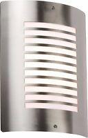 Modern Stainless Steel Slotted Outdoor Wall Light IP44 - NH028 Garden Light Lamp