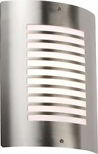 Modern Stainless Steel Slotted Outdoor Wall Light IP44 - NH028 Garden Light Lamp