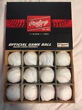 (12) 1 Dozen Rawlings Official Major League Baseballs MLB Manfred ROMLB