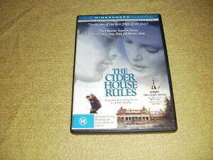THE CIDER HOUSE RULES romance 1999 DVD as NEW Tobey Maguire charlize theron R4