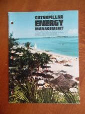 c.1981 Caterpillar Energy Management Bulletin Magazine Fiji Electrification Vg