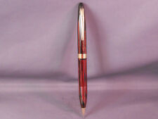 Sheaffer Pencil-carmine red with gold trim-- working