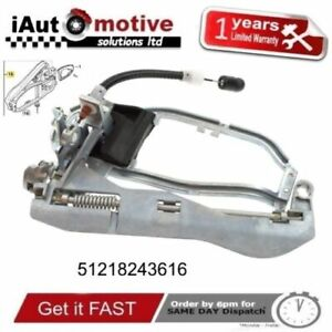 For BMW X5 E53 1999-06 New Front Right Driver Side Door Handle Carrier Inner RH