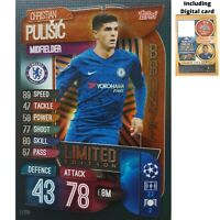 MATCH ATTAX 2019/20 LIMITED EDITION CHRISTIAN PULISIC BRONZE LE10B FREE DIGITAL