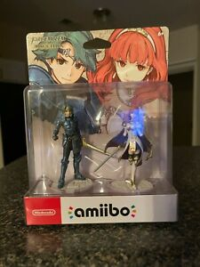 Amiibo Fire Emblem ALM & CELICA Figures BRAND NEW IN PACKAGE