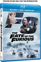 The Fate Of The Furious [New Blu-ray] With DVD, 2 Pack, Digitally Mastered In