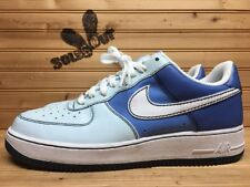 2007 Womens Nike Air Force One 1 Low sz 12 Shades Of Blue 315115-412 CR